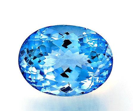 BLUE TOPAZ 34.41CTS. 21X16X13MM