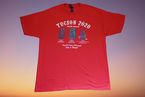 TUCSON 2020 T-SHIRT RED
