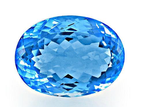 BLUE TOPAZ 31.93CTS. 22X15X11MM