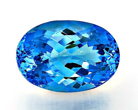 BLUE TOPAZ 29.04CTS. 22X15X12MM