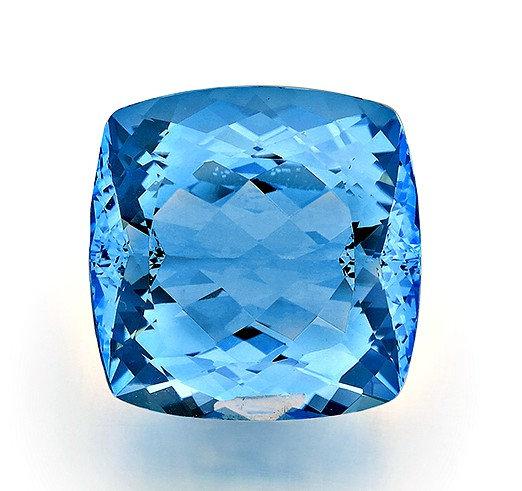 BLUE TOPAZ 78.73CTS. 25X25X15MM
