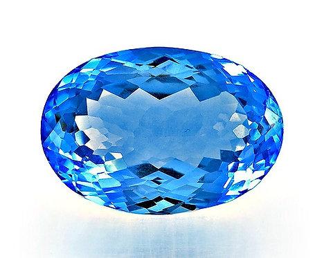 BLUE TOPAZ 33.26CTS. 23X16X11MM