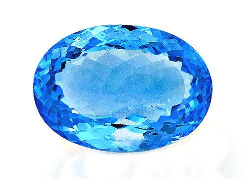 BLUE TOPAZ 28.99CTS. 22X16X10MM