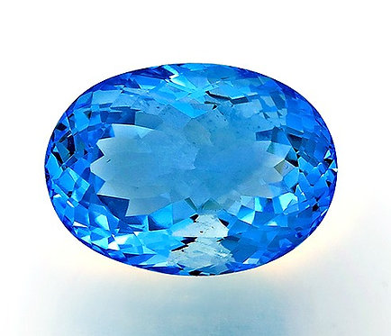 BLUE TOPAZ 31.58CTS. 22X16X11MM