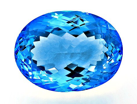BLUE TOPAZ 32.15CTS. 21X16X11MM