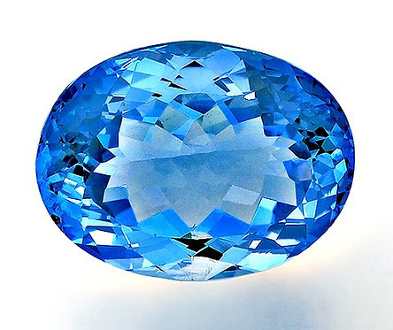 BLUE TOPAZ 30.53CTS. 22X17X12MM