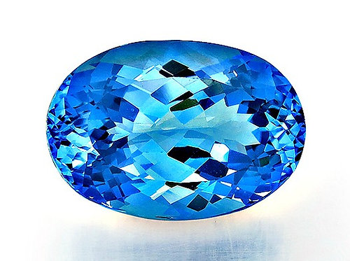 BLUE TOPAZ 29.39CTS. 22X15X11MM