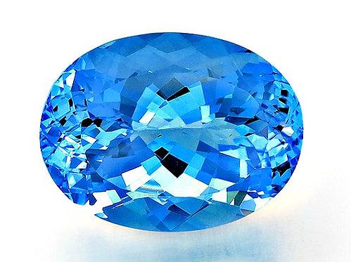 BLUE TOPAZ 81.01CTS. 30X23X18MM