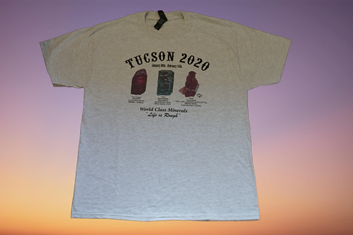 TUCSON 2020 T-SHIRT GREY
