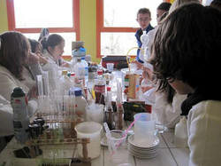 Labo de physique chimie