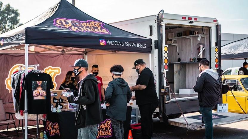 Hustle Trucks Mobile Storefront Donuts N Wheels Pop Up 4