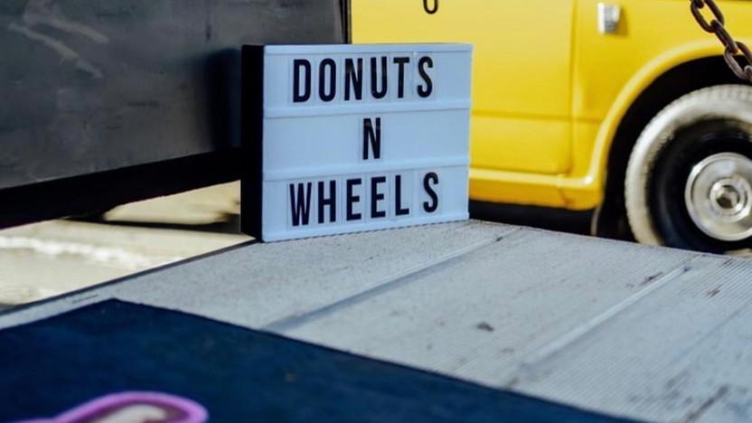 Hustle Trucks Mobile Storefront Rentals Donuts N Wheels Pop Up Shop
