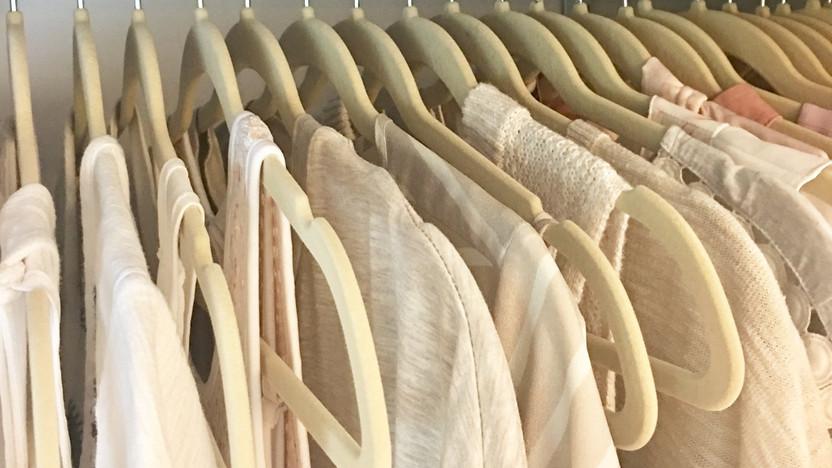 Hustle Trucks Mobile Storefront Interior Clothing Hangers