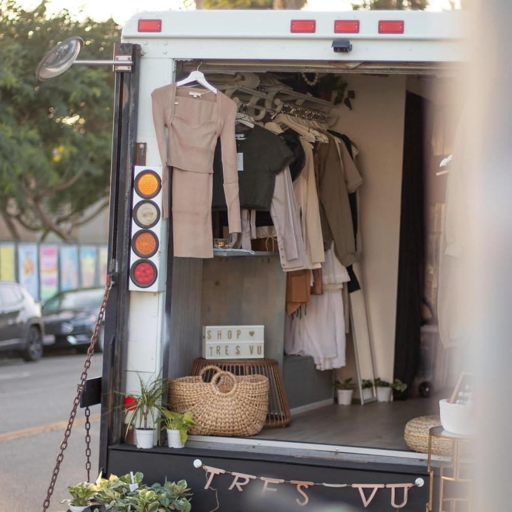 Mobile storefront rental in Los Angeles