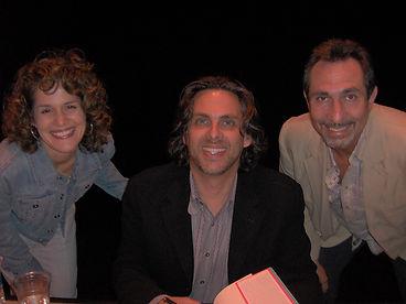 Michael Chabon with Ken and Lisa.JPG