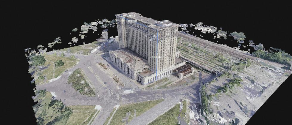 Aerial 3D Building Model