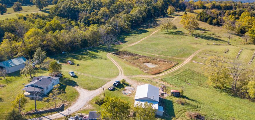 West Sixth Farm Aerial