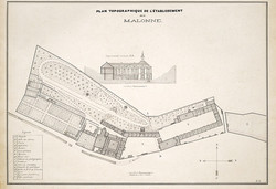 Abbaye de Malonne vers 1890