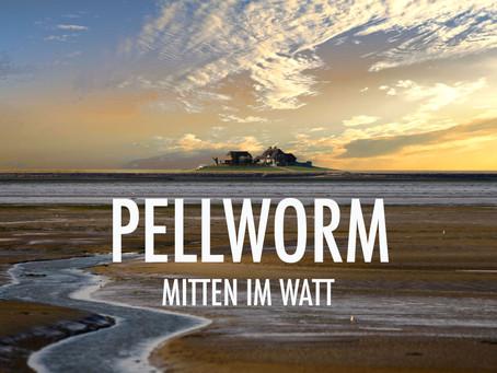 Pellworm. Kleine Insel mitten im Watt