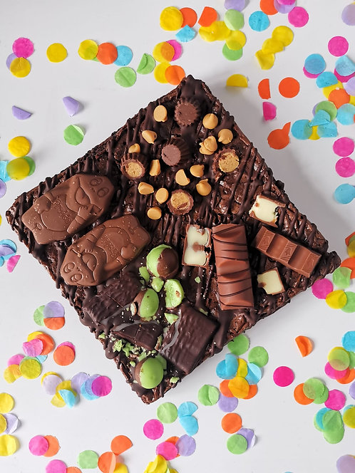 Mad Batter Brownie Box - Four Flavour Slab - Gluten Free
