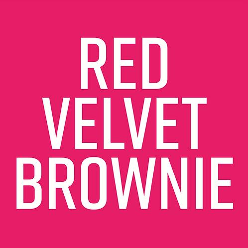 Red Velvet & Cookie Dough Brownie