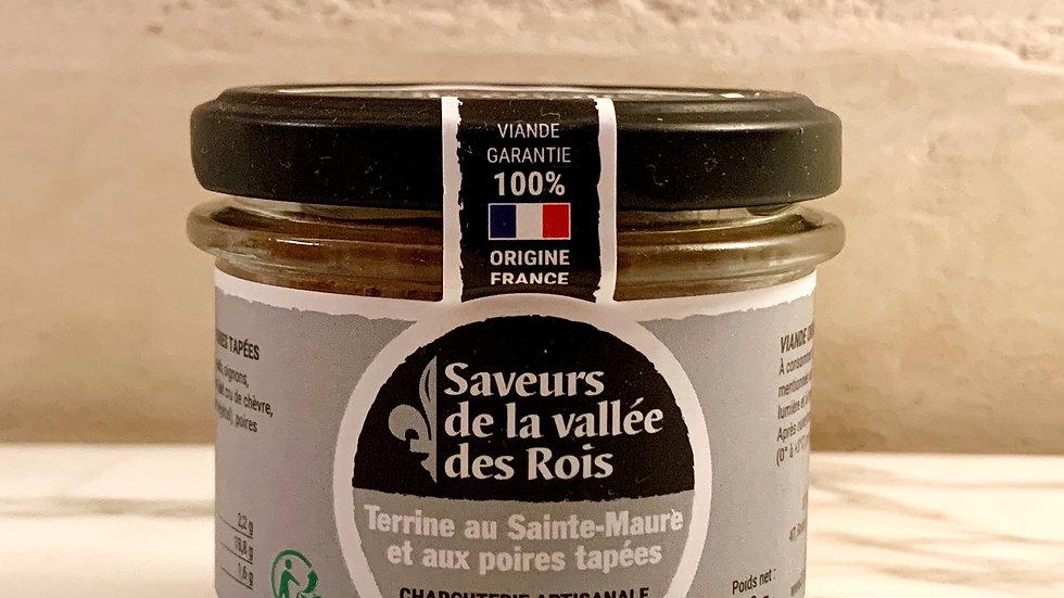 Terrine au Saint-Maure & Poires Tapées de Touraine