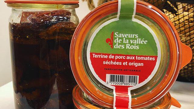Terrine aux Tomates Séchées & Origan