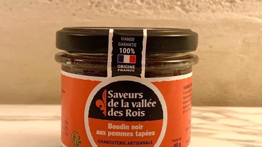 Boudin noir aux Pommes Tapées de Touraine