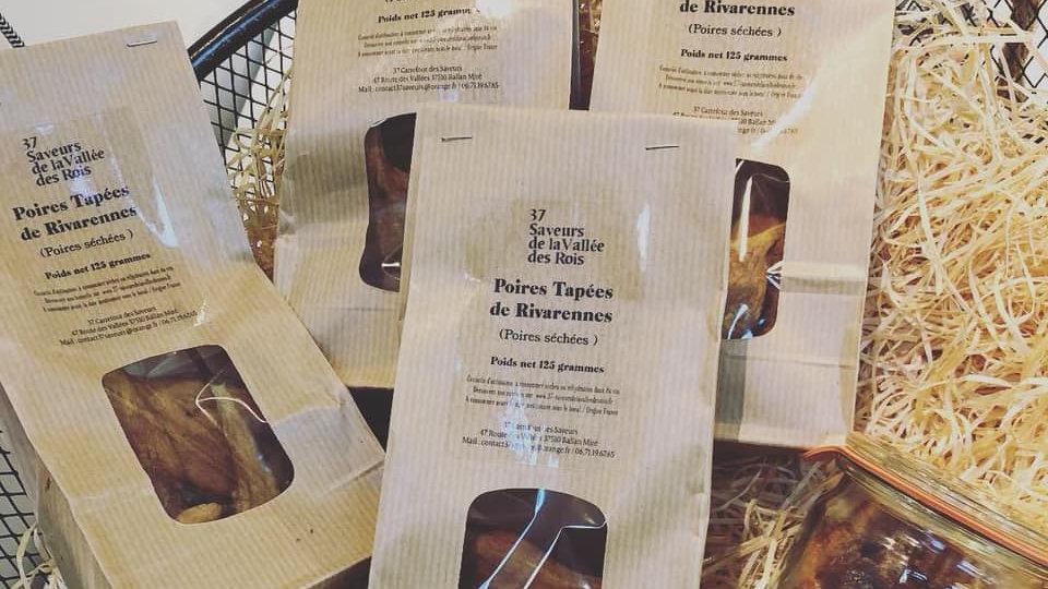 Sachet de Poires OU Pommes Tapées de Touraine