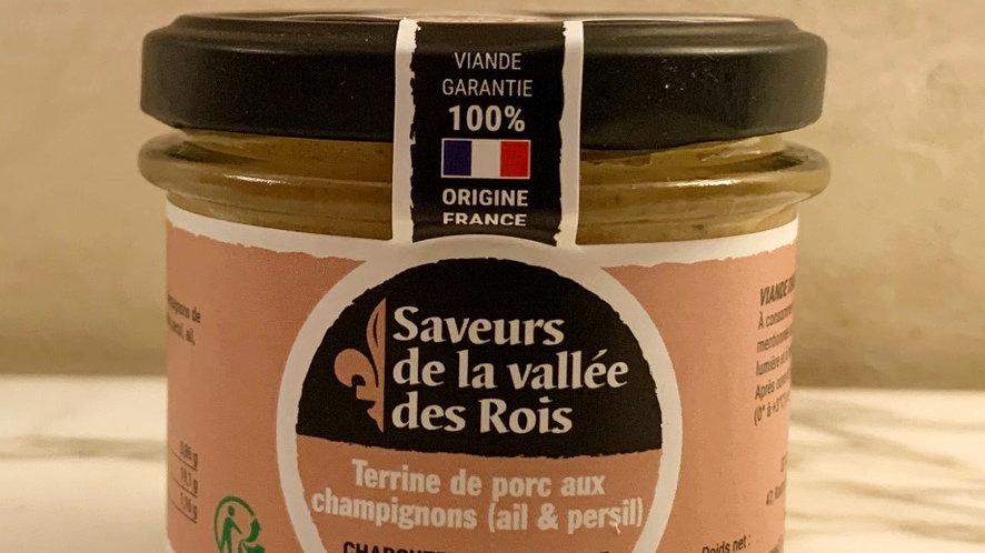 Terrine aux Champignons, Ail & Persil