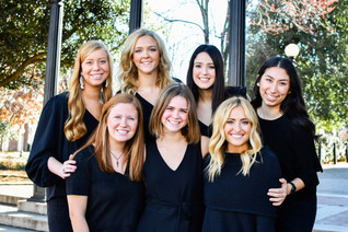 Get to Know the 2020 Panhellenic Executive Board!