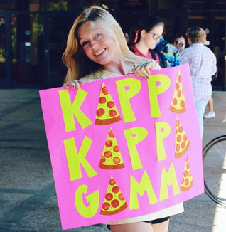 Pizza Party with Kappa Kappa Gamma