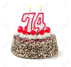 OMG--I'm Turning Seventy-Four