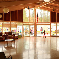 inside the Glenhaven Lake Clubhouse