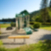 Kid's playground on Glenhaven Island