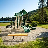 Kid's playground on Glenhaven Island
