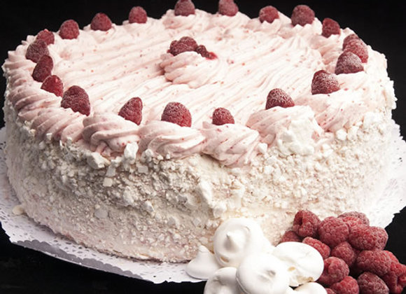 Torta Merengue Frambuesa Entera