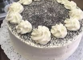 Torta Semilla de Amapolas Entera