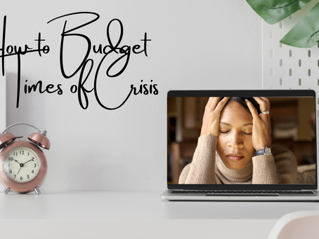 Emergency Budgeting in Times of Crisis