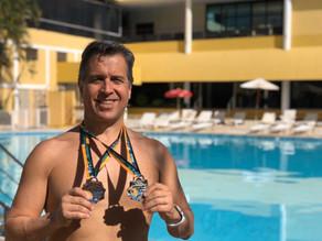 Fabio Duarte Correa é campeão do campeonato Sul-americano de Natação