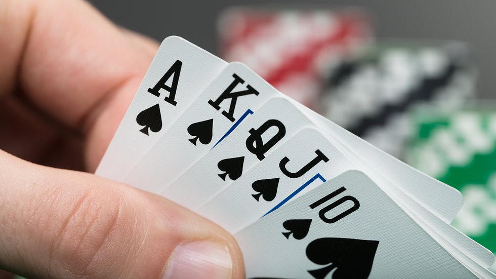 Poker Run Hand