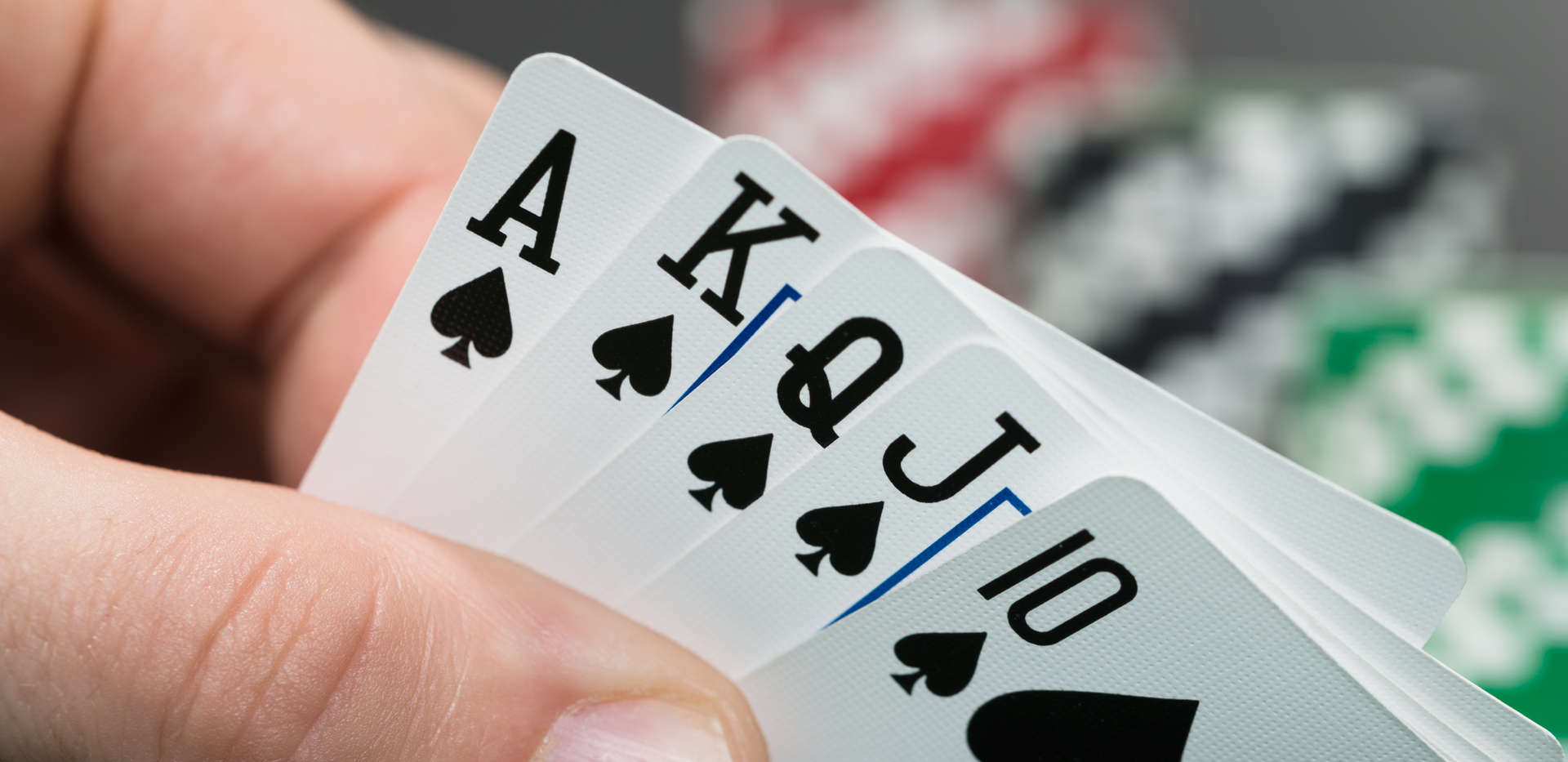 The odds of getting a royal flush are exactly 1 in 649,740.