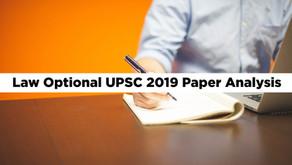 Law Optional UPSC 2019 Paper Analysis (Short)
