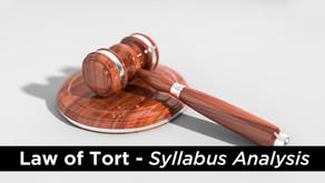 UPSC Law Optional Syllabus Analysis- Law of Tort