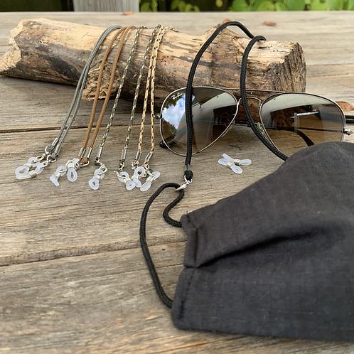 Brillen- und Maskenkette 4er Bundle