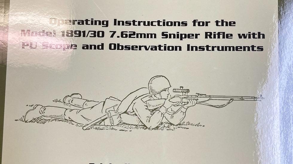 Mosin- Nagant Sniper Rifle Manual