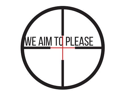 we aim to please slogan.jpg