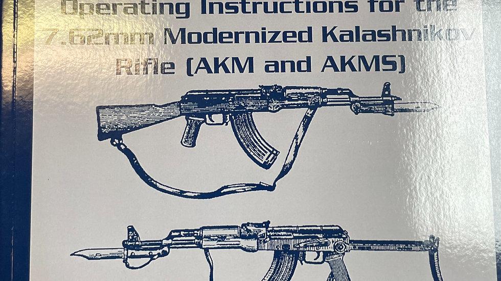 Official Soviet AKM and AKMX Rifle Manual ( English Translation