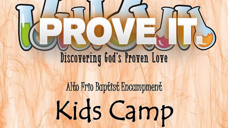 Fundraiser -Youth Alto Frio Summer Camp