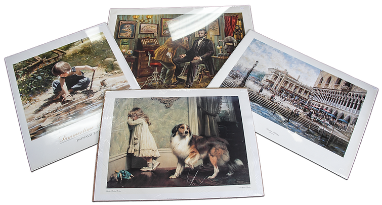 Hundreds Of Prints At Price Maples Sr. Art & Framing Custom Frame Shop And Art Gallery In Lexington, Ky
